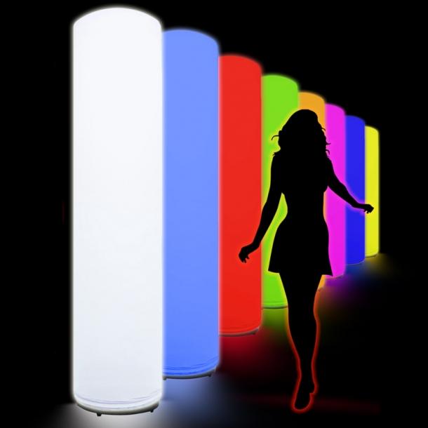 Light Column 2m oder 3m, verschiedene Farben