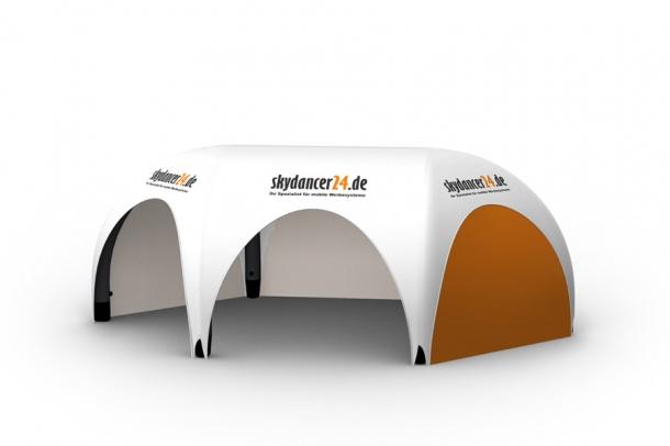 Eventzelt Pneumo Tent Spider VI Werbe-Pavillon mit 6 Beinen