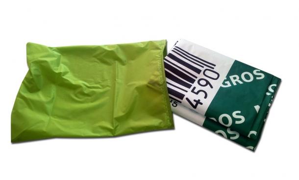 Wechselhülle Leuchthülle für Werbesäule inkl. Digitaldruck