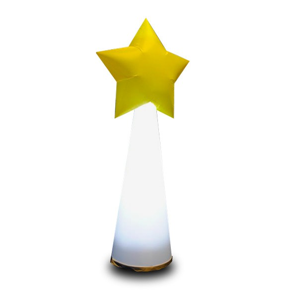 STAR CONE - Aircone mit Stern in 2 Variationen