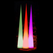 7m Aircone d=90cm mit LED-Farbwechselsteuerung