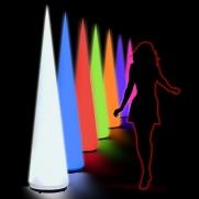 Aircone 2m bis 3m 15 verschiedene Farben