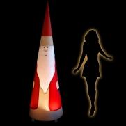Weihnachtsmann Aircone 2m inkl. Gebläse mit Beleuchtung