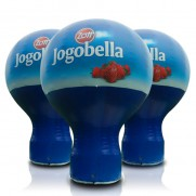 Sonderform Standballon 2-6m inkl. 4C Branding