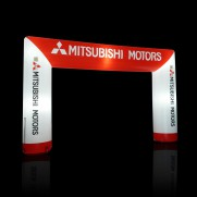 Profi Marathon Torbogen/ Zieleinlauf Bogen optional beleuchtet