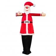 Winkender Weihnachtsmann Airdancer Nikolaus inkl. Gebläse