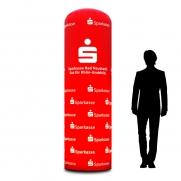 Aufblasbare Leucht-/ Werbesäule d=90cm inkl. Technikplattform