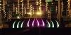CUDU - geschwungener Aircone mit Beleuchtung