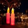 Kerzen aufblasbar leuchten bei Nacht