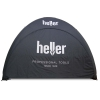 "Pneumatisch aufblasbares Event Zelt mit Branding ""Heller Tools"""