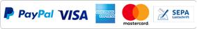 PayPal, Lastschrift, Kreditkarte, Rechnung